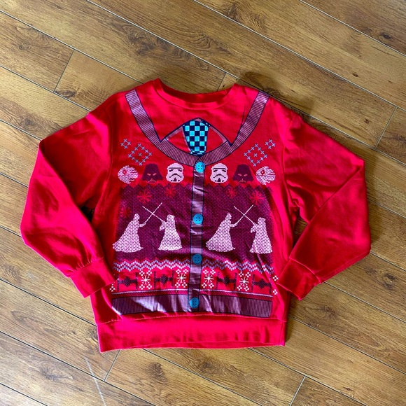 Star Wars Winter Showdown Sweatshirt Medium